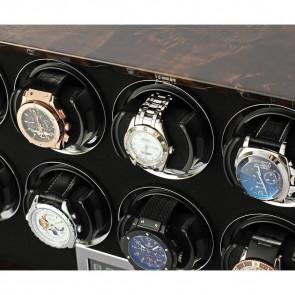 Petite 8 watch winder (Dark Burl)
