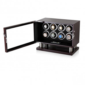 Leader Watch Winder for 8 Watches (Ebony)