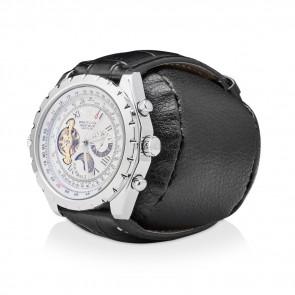 Leader Watch Winders  Faux Leather Watch Holder (Black)